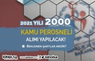 GSB 2021 Yılı 2000 Kamu Personeli Alımı (Antrenör)...