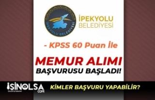 İpekyolu Belediyesi 30 Zabıta Memuru Alımı Başvuru...