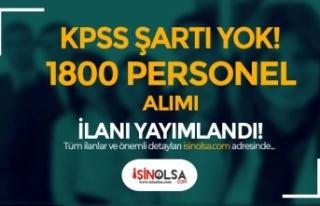 İŞKUR'da KPSS'siz Kamu İlanları: Devlete...