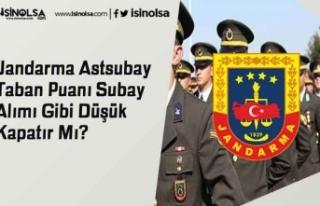 Jandarma Astsubay Taban Puanı Subay Alımı Gibi...