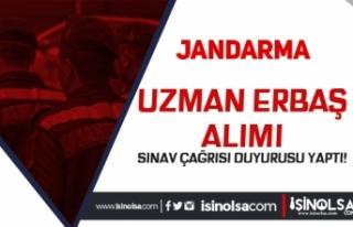 Jandarma'dan 2021 Yılı Uzman Erbaş Alımı...