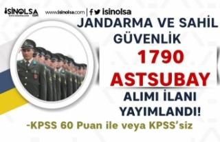 Jandarma ve Sahil Güvenlik 60 KPSS ile ve KPSS Siz...
