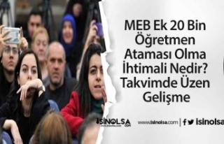 MEB Ek 20 Bin Öğretmen Ataması Olma İhtimali Nedir?...