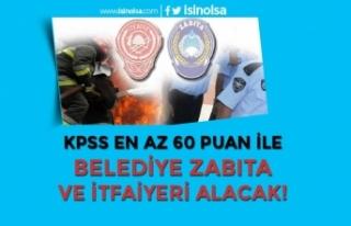 Safranbolu Belediyesi Kadın Erkek İtfaiyeci ve Zabıta...
