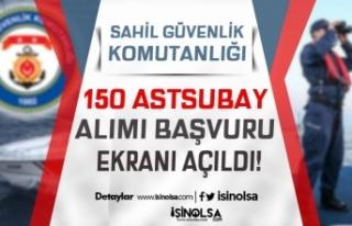 Sahil Güvenlik 60 KPSS ile Veya KPSS'siz 150...