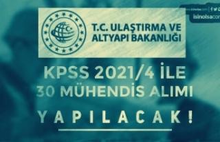 Ulaştırma ve Altyapı Bakanlığı KPSS 2021/4 İle...