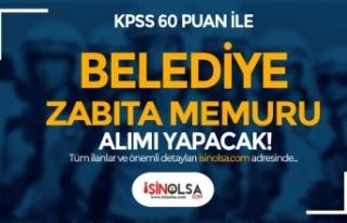 Yaylakent Belediyesi 60 KPSS ile Zabıta Memuru Alımı...