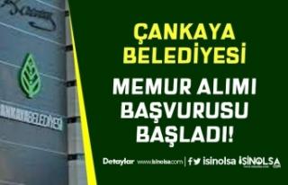 Ankara Çankaya Belediyesi KPSS A Grubu Puanı İle...
