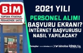BİM Türkiye Geneli Personel Alımı İnternet Başvurusu...