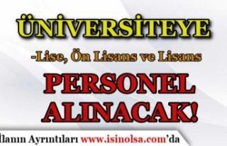 Eskişehir Teknik Üniversitesi 30 Sözleşmeli Personel...