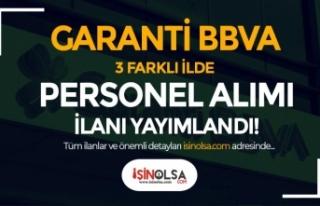 Garanti BBVA 3 Farklı İlde Banka Personeli (Müşteri...