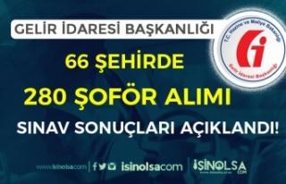 Gelir İdaresi 66 Şehirde 280 Şoför Alımı Sınav...