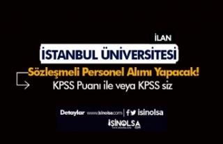 İstanbul Üniversitesi KPSS'li KPSS'siz...