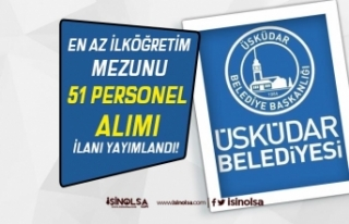 İstanbul Üsküdar Belediyesi İlkokul Mezunu 51...