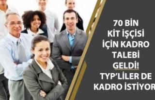 KİT'lerde Çalışan Taşeron İşçilere Kadro...