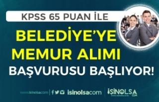 KPSS 65 Puan İle Memur Alımı 5 Nisan Başlıyor!...