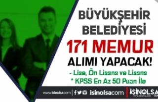MBB ( Muğla Büyükşehir Belediyesi ) 171 Memur...