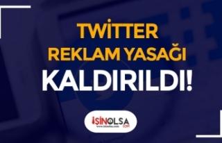 Resmi Gazetede Yayımlandı! BTK Twitter Reklam Yasağını...