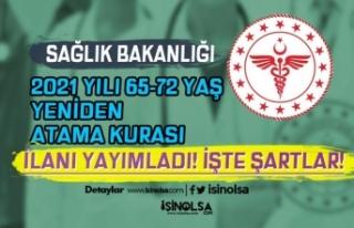 Sağlık Bakanlığı 2021 Yılı 65-72 Yaş Yeniden...