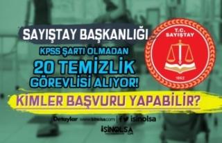 Sayıştay Başkanlığı İŞKUR ile KPSS siz 20...
