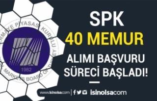 SPK 2019 ve 2020 KPSS Puanı ile 40 Memur Alımı...