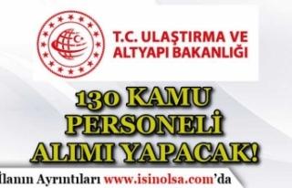 Ulaştırma ve Altyapı Bakanlığı 130 Temizlik...