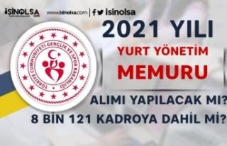 2021 Yılı GSB Yurt Yönetim Memuru Alımı Yapacak...
