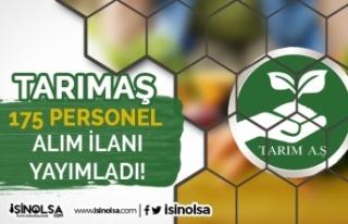 Bursa TARIMAŞ 195 Şoför, Muavin ve Peyzaj Personeli...