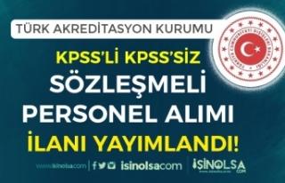 Dışişleri Bakanlığı TÜRKAK KPSS'li KPSS...