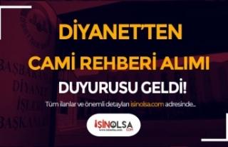 Dİyanet'ten 2020 Yılı Cami Rehberi Alımı...