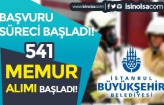 İBB 541 İtfaiye Eri Alımı Başladı! Online Başvuru...