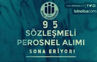 İnönü Üniversitesi 95 Sözleşmeli Personel Alımı...