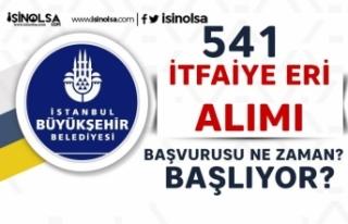 İstanbul Büyükşehir Belediyesi 541 İtfaiye Eri...