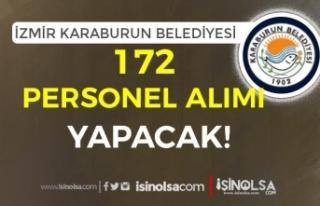 İzmir Karaburun Belediyesi Şirketi 172 Personel...