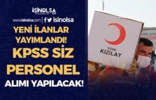 Kızılay 21 Mayıs İtibari İle 3 İlan Yayımladı!...