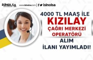 Kızılay 4000 TL Maaş İle Çağrı Merkezi Operatörü...