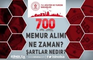 Kültür Bakanlığı 700 Memur Alımı Ne Zaman?...