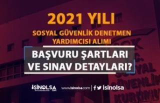 SGK 2021 Yılı Sosyal Güvenlik Denetmen Yardımcısı...