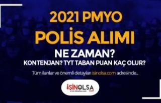2021 Yılı PMYO Polis Alımı Geliyor Mu? Kontenjan,...