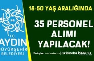 Aydın Büyükşehir Belediyesi 18-50 Yaş Arası...