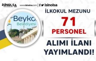 Beykoz Belediyesi Haftada 45 Saat Çalışacak 71...
