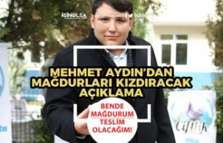 Çiftlikbank'ın Kurucusu Mehmet Aydın Ne Zaman...