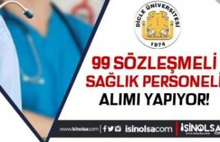 Dicle Üniversitesi 99 Sağlık Personeli Alımı...