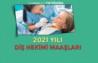 Diş Hekimi Maaşları 2021