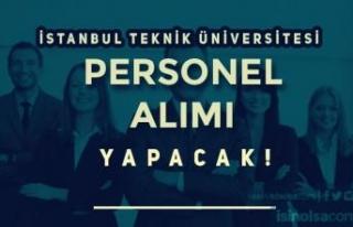 İstanbul Teknik Üniversitesi 5 Bilişim Personeli...