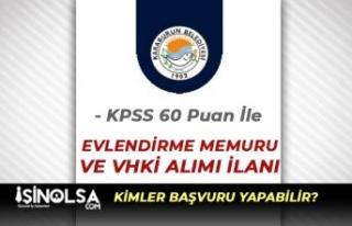İzmir Karaburun Belediyesi 60 Puan İle VHKİ ve...