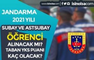 Jandarma 2021 Yılı Subay ve Astsubay Öğrenci Alımı...