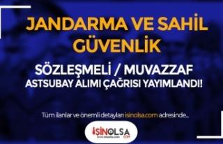 Jandarma Ve Sahil Güvenlik 2021 Astsubay Alımı...