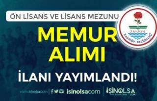 Kadıköy Belediyesi Lisans ve Ön Lisans Mezunu Memur...