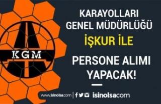 Karayolları Genel Müdürlüğü 3 Şubeye Kadrolu...